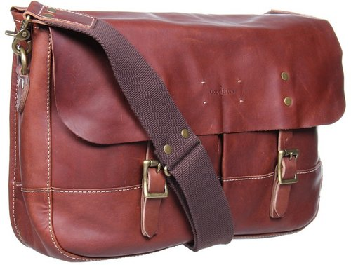 Cole Haan - Hermitage Messenger Bag (Woodbury) - Bags and Luggage