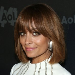 Alice Eve And Nicole Richie With Full Fringed Bob