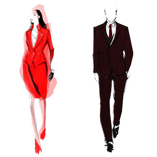 Vivienne Westwood Designs Uniforms For Virgin Atlantic