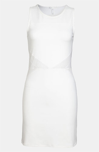 Leith Body-Con Mesh Dress