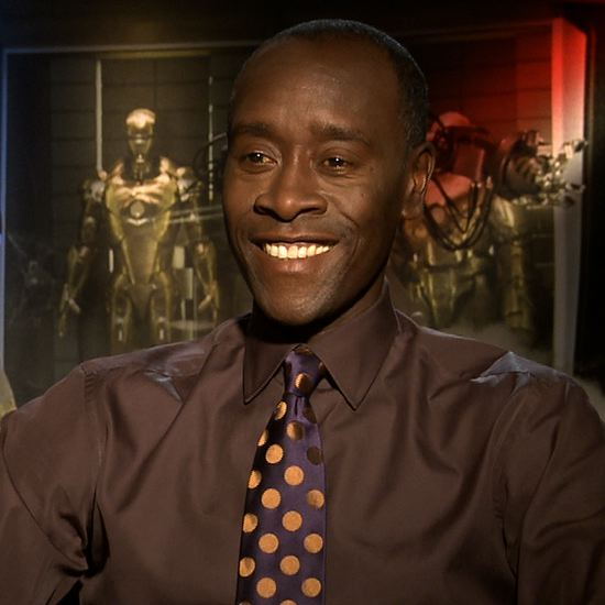 Don Cheadle Iron Man 3 Interview  Video Don Cheadle Iron Man 3
