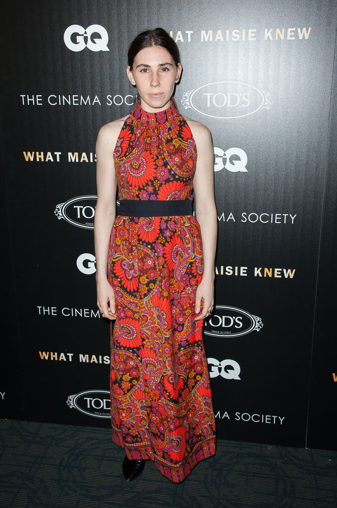 Zosia Mamet dropped by the premiere.