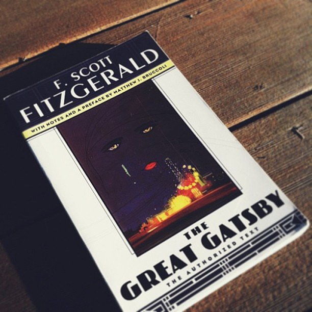 Lauramariemeyers reread The Great Gatsby before the new movie comes out.