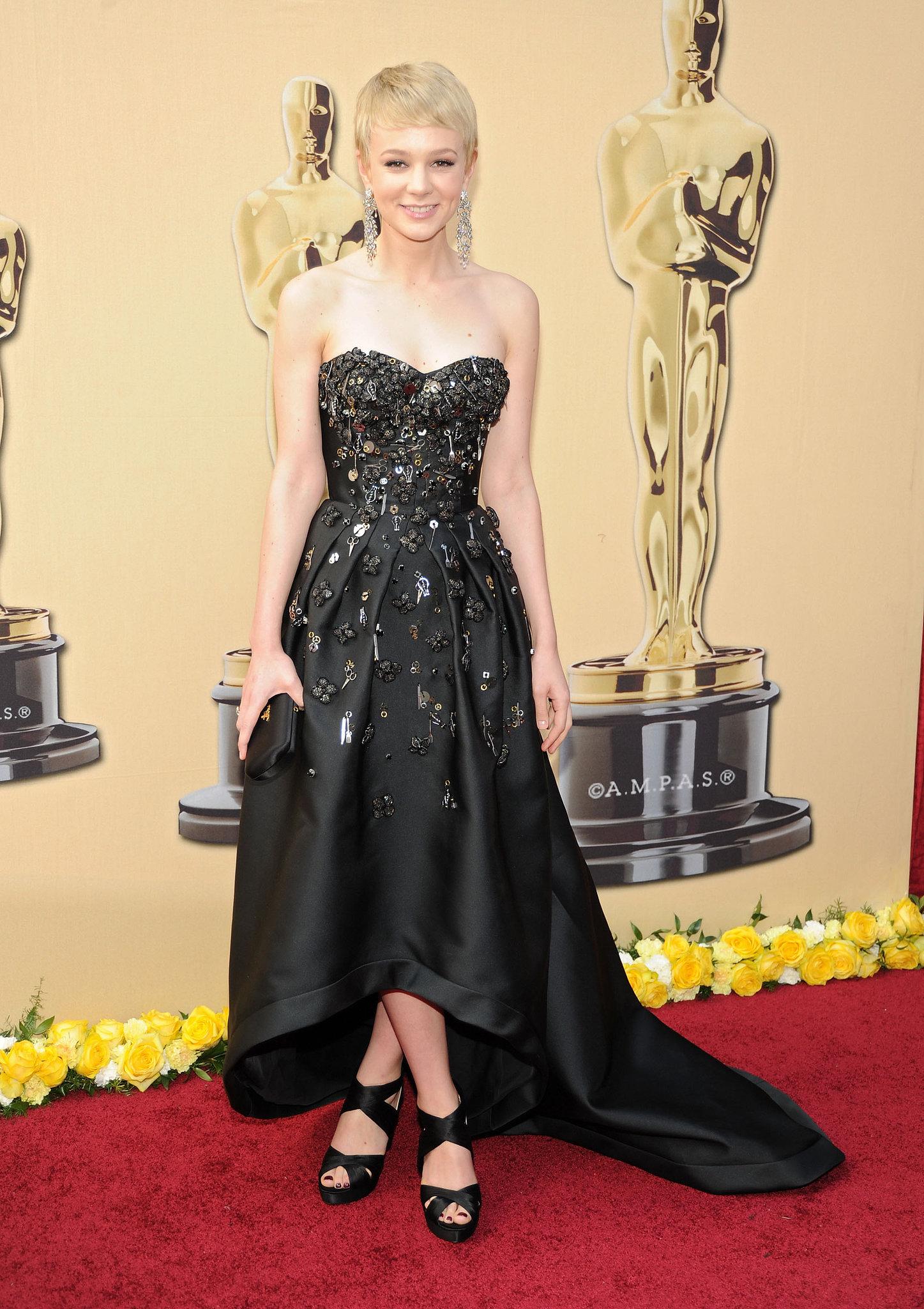 Carey Mulligan in a Prada Gown at the 2010 Oscars