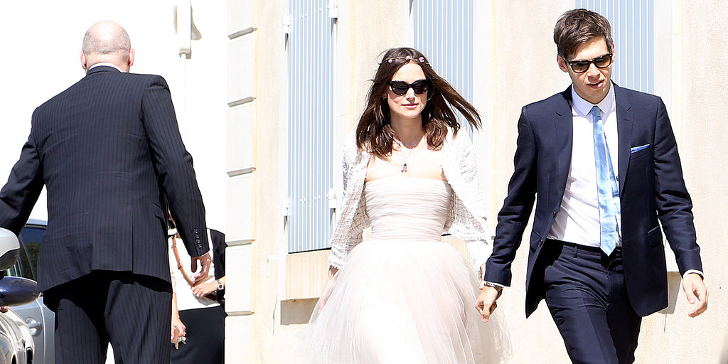 Keira Knightley Ties the Knot in a Recycled Chanel Gown