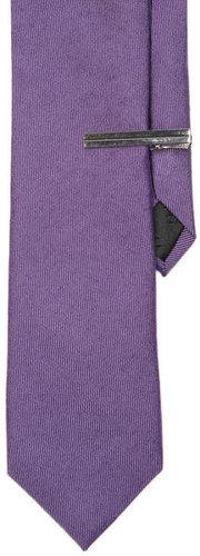 Wool Solid Slim Tie