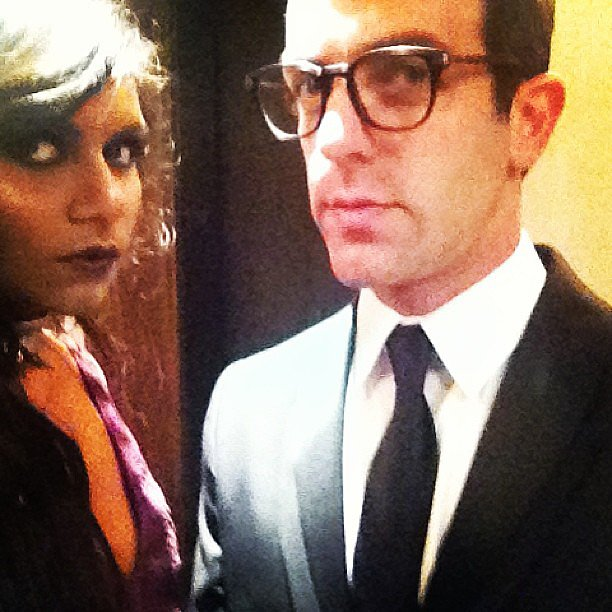 "Mindy Kaling captioned this picture with, ""We woulda gone punk even if it wasn't the theme."" Source: Instagram user mindykaling"