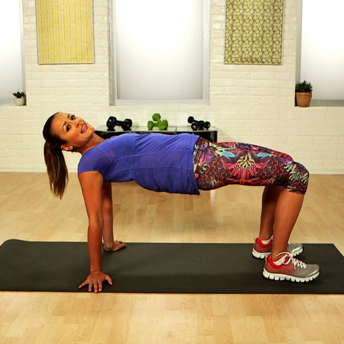Exercise to Lift Butt at Home: Advanced Bridges