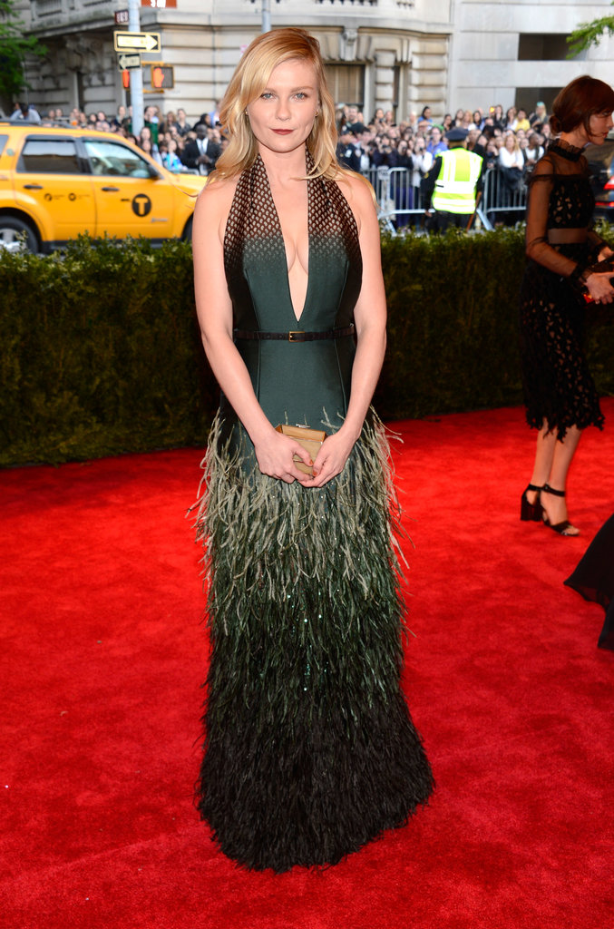 Kirsten Dunst at the Met Gala 2013.