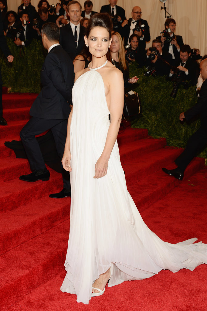 Katie Holmes at the Met Gala 2013.