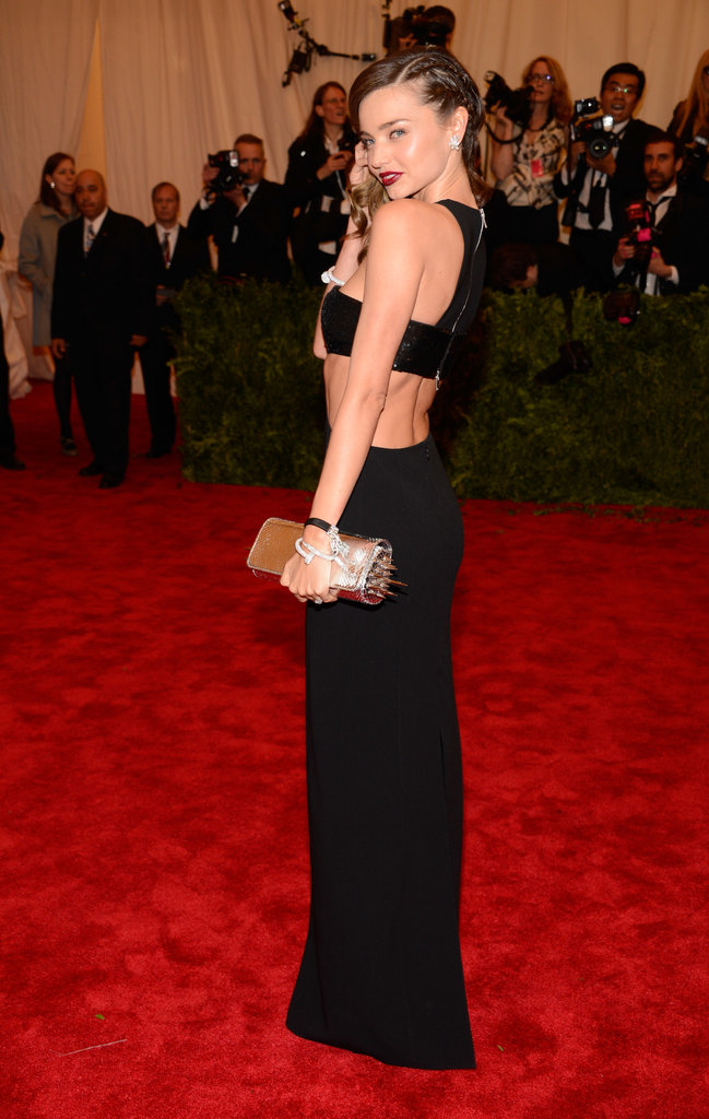 Miranda Kerr at the Met Gala 2013.