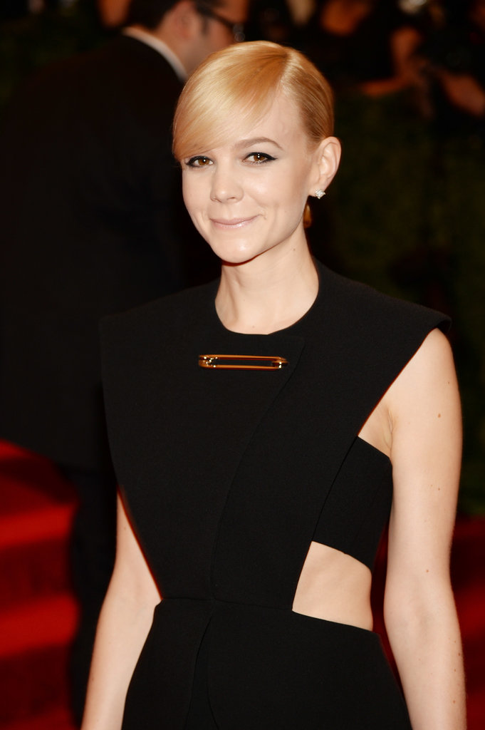 Carey Mulligan at the Met Gala 2013.