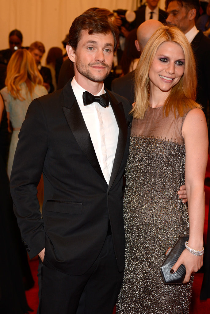 Claire Danes and Hugh Dancy at the Met Gala 2013.