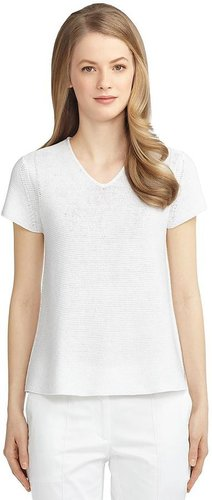 Cotton A-Line Sweater
