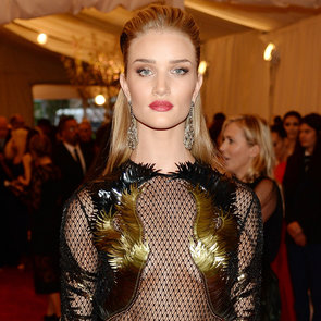 See Rosie Huntington Whiteley in Gucci at the 2013 Met Gala