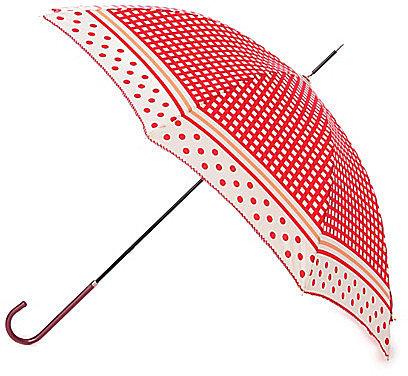 [GROVE]格子×ドット長傘