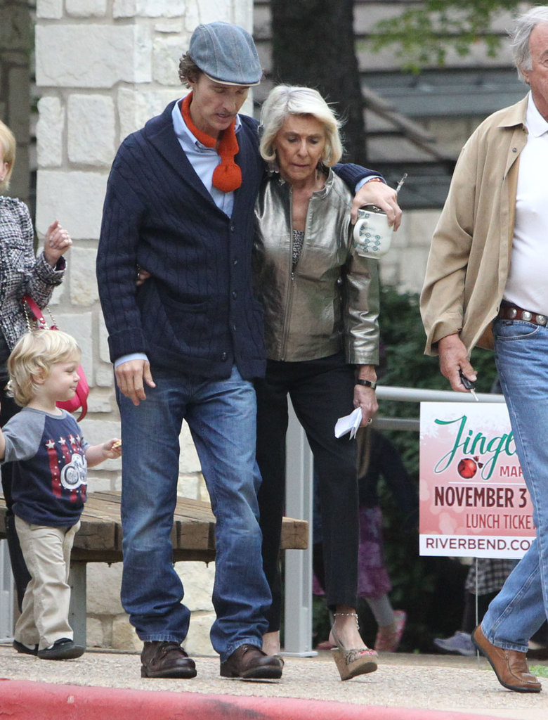 Matthew McConaughey's Strong Mom
