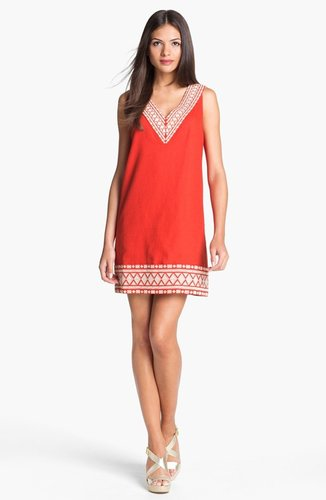 Kate Spade New York 'laureen' Cotton Blend Shift Dress