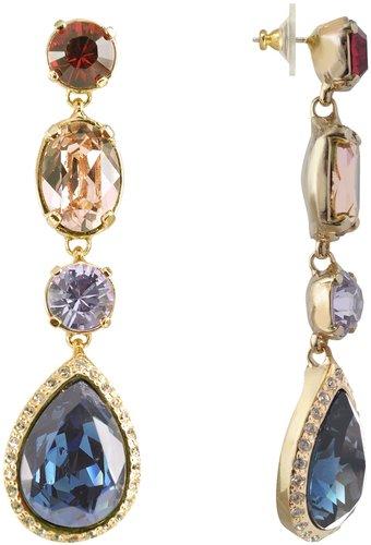 AZ Collection Multicolor Drop Earrings