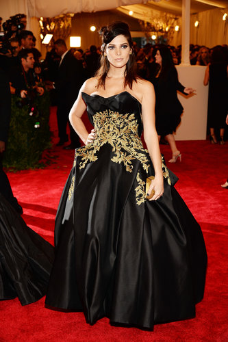 Ashley Greene at the Met Gala 2013.