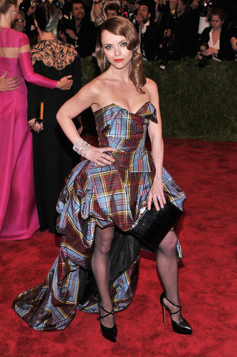 Christina Ricci at the Met Gala 2013.