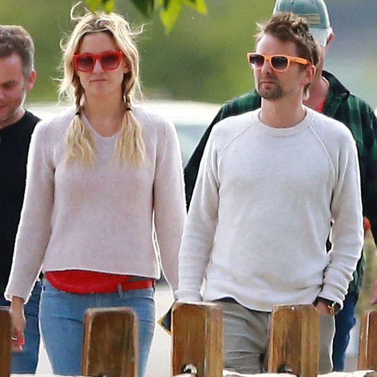 Kate Hudson and Matthew Bellamy at Winey With Kurt Russell