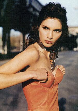 Fashion Model Theresa Moore