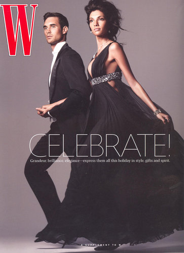 Theresa Moore  Cover of W magazine