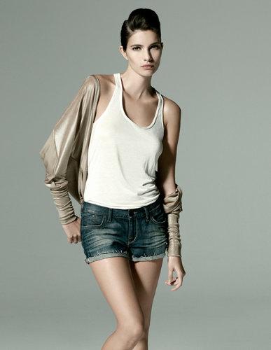 Supermodel Theresa Moore