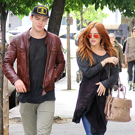 Nicholas Hoult With Riley Keough in NYC | Photos