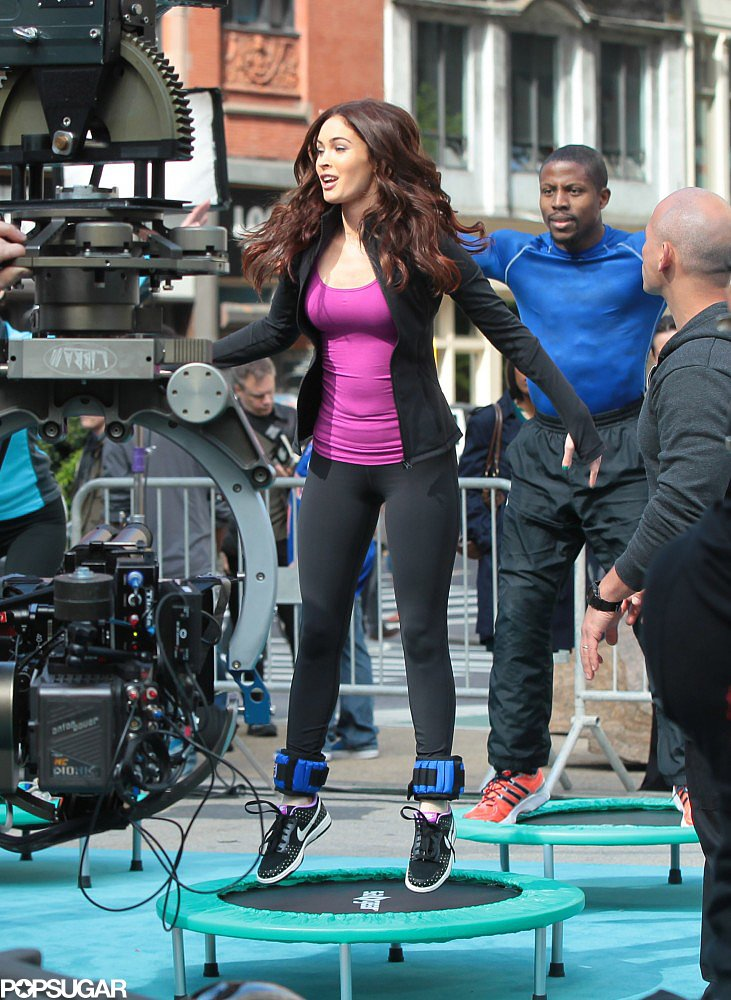 Megan Fox Jumps Into Action For Teenage Mutant Ninja Turtles