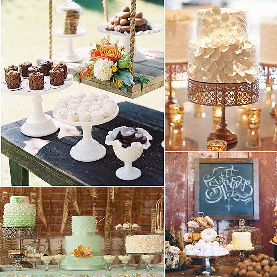 wedding dessert table ideas popsugar food. Black Bedroom Furniture Sets. Home Design Ideas