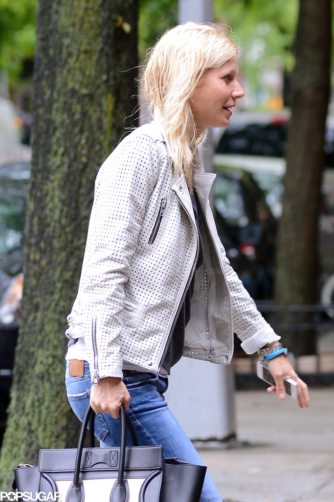 Gwyneth Paltrow Mixes Designers During a Busy NYC Day