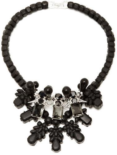 Ek Thongprasert Exclusive to M'O - Black & Silver Dagger Necklace