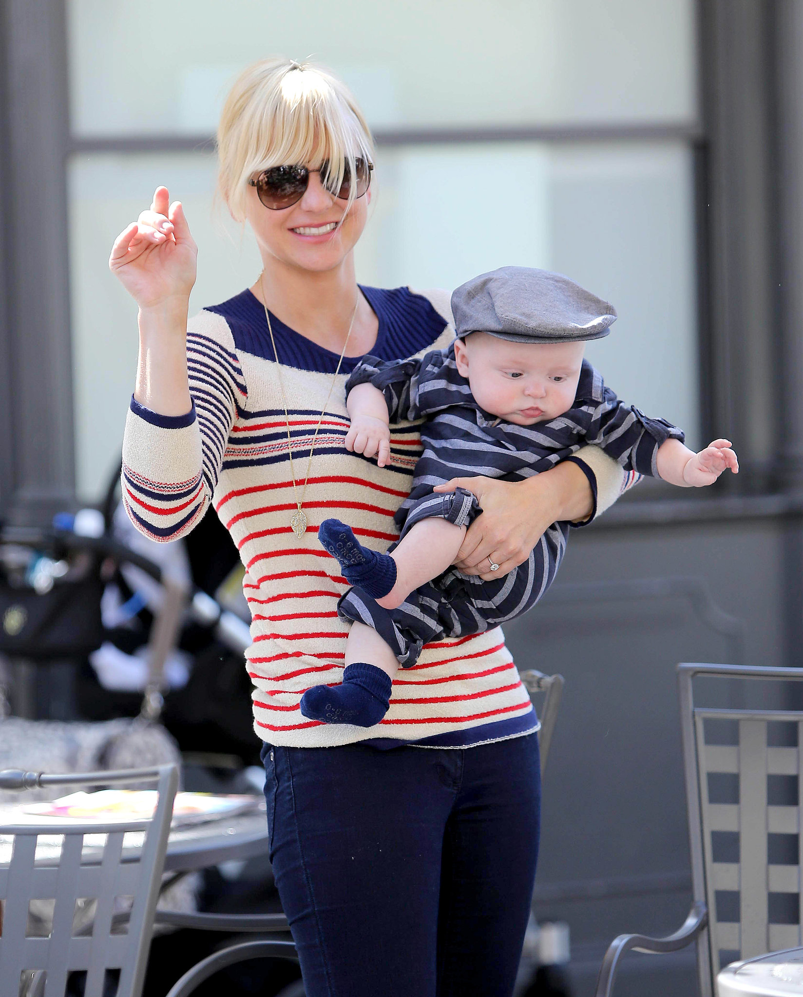 Anna Faris and chris pratt baby