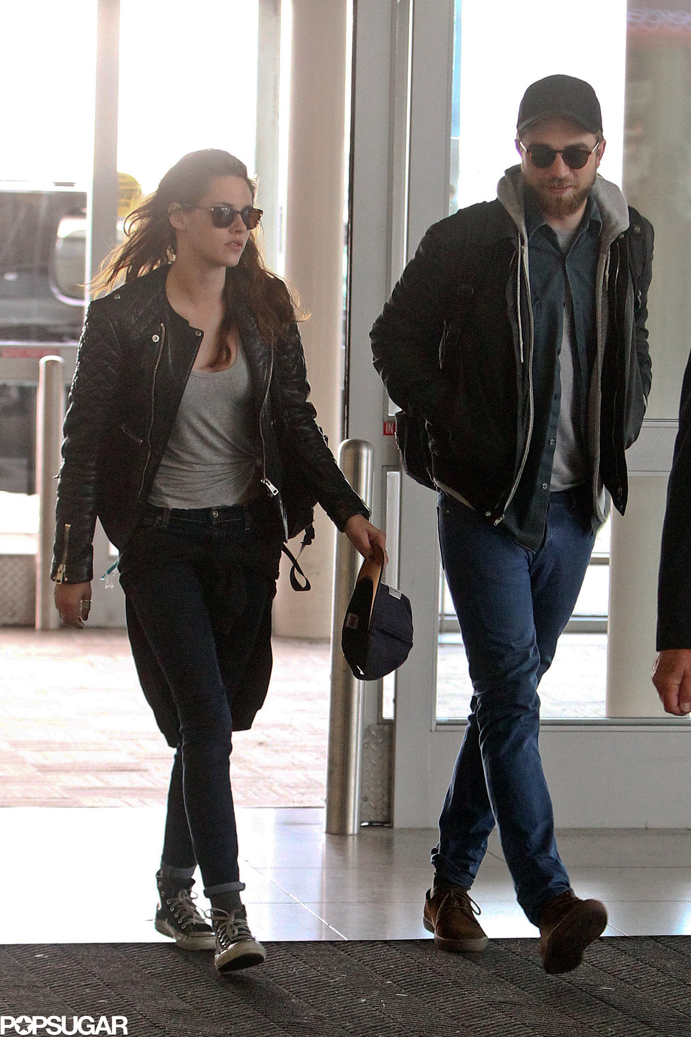 Rob Skips the Met Gala but Stays in NYC With Kristen