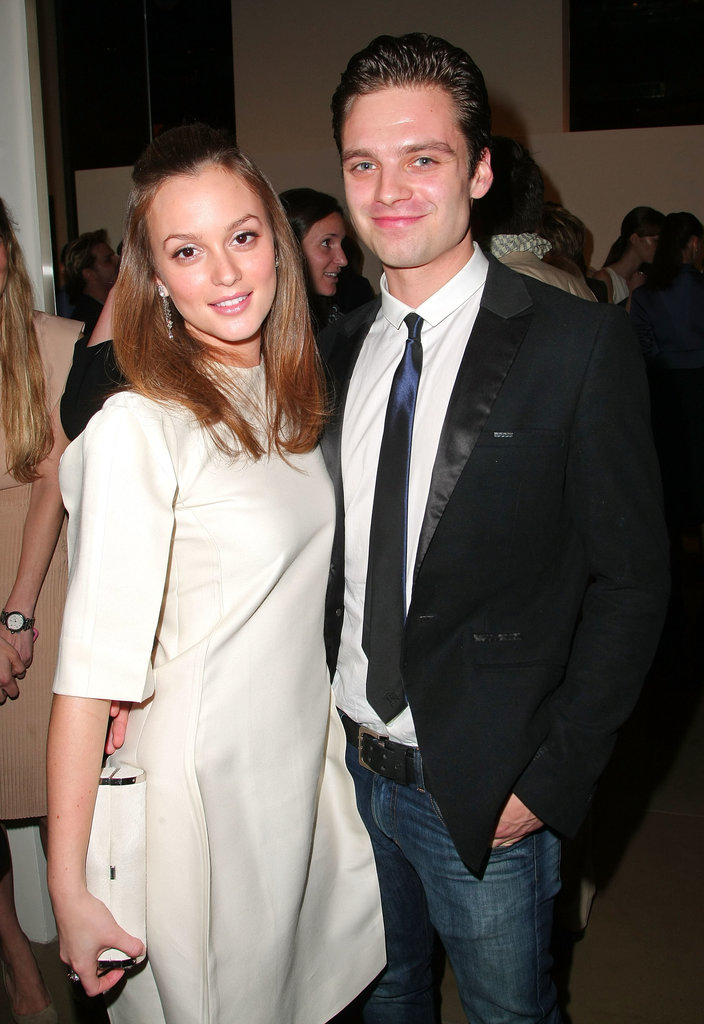 Leighton Meester and Sebastian Stan