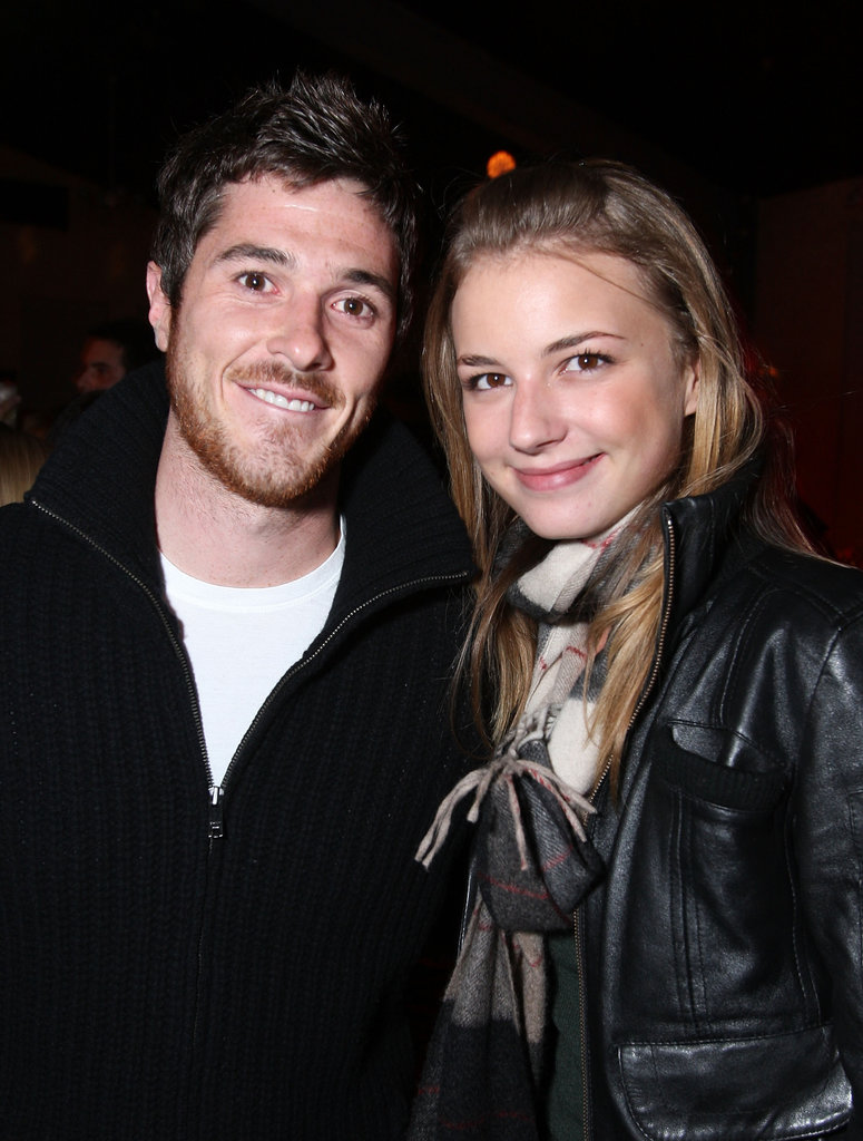Emily VanCamp and Dave Annable