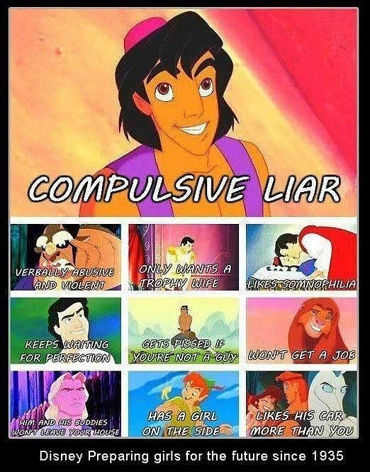 Disney princes may be flawed who isn t but there s just something