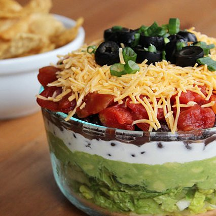 Even Lightened Up, This 7-Layer Dip Is a Crowd Favorite
