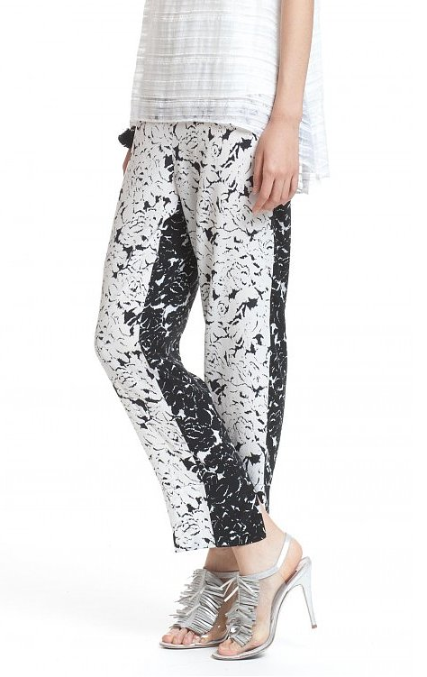 With a fit so comfortable they're practically begging for an hour on the couch, slouchy pants are a divine addition to the 9-to-5 grind. If you don't already own a pair, start with Tracy Reese's floral offering ($228).