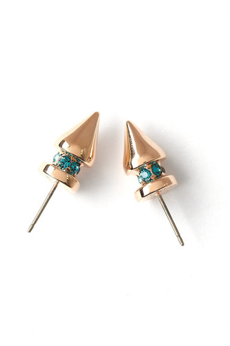 Mawi Pretty In Punk Small Spike Stud Earring