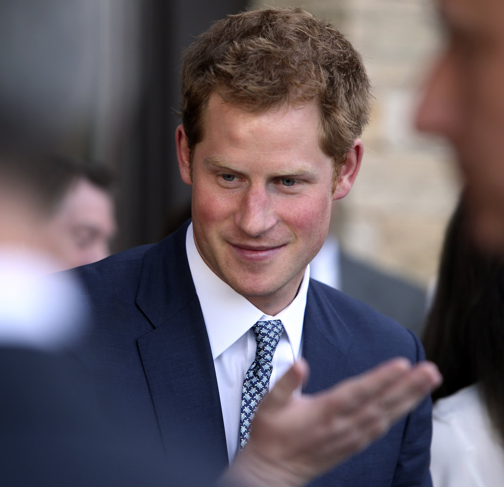On Friday, Prince Harry toured through Denver.