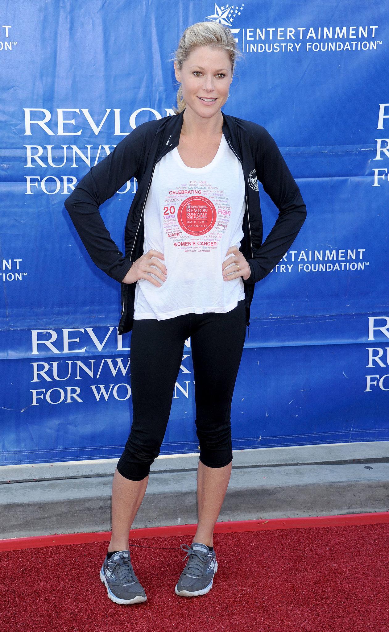 Halle Berry Brings Her Bump Out For Revlon's LA Race