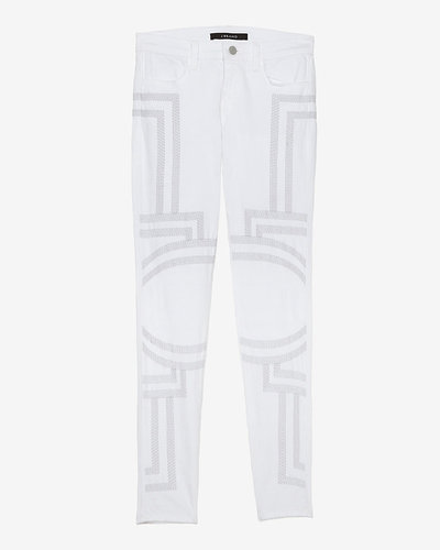 J Brand 20th Anniversary Capsule Collection Exclusive Embroidery Skinny