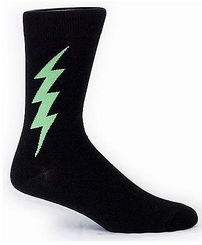 Sock It To Me Men's Novelty Superhero Mid-Calf Length Socks Panty Hose