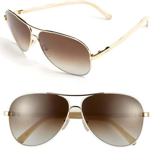 Chloe 61mm Aviator Sunglasses