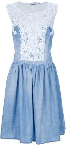Ermanno Scervino lace bodice dress