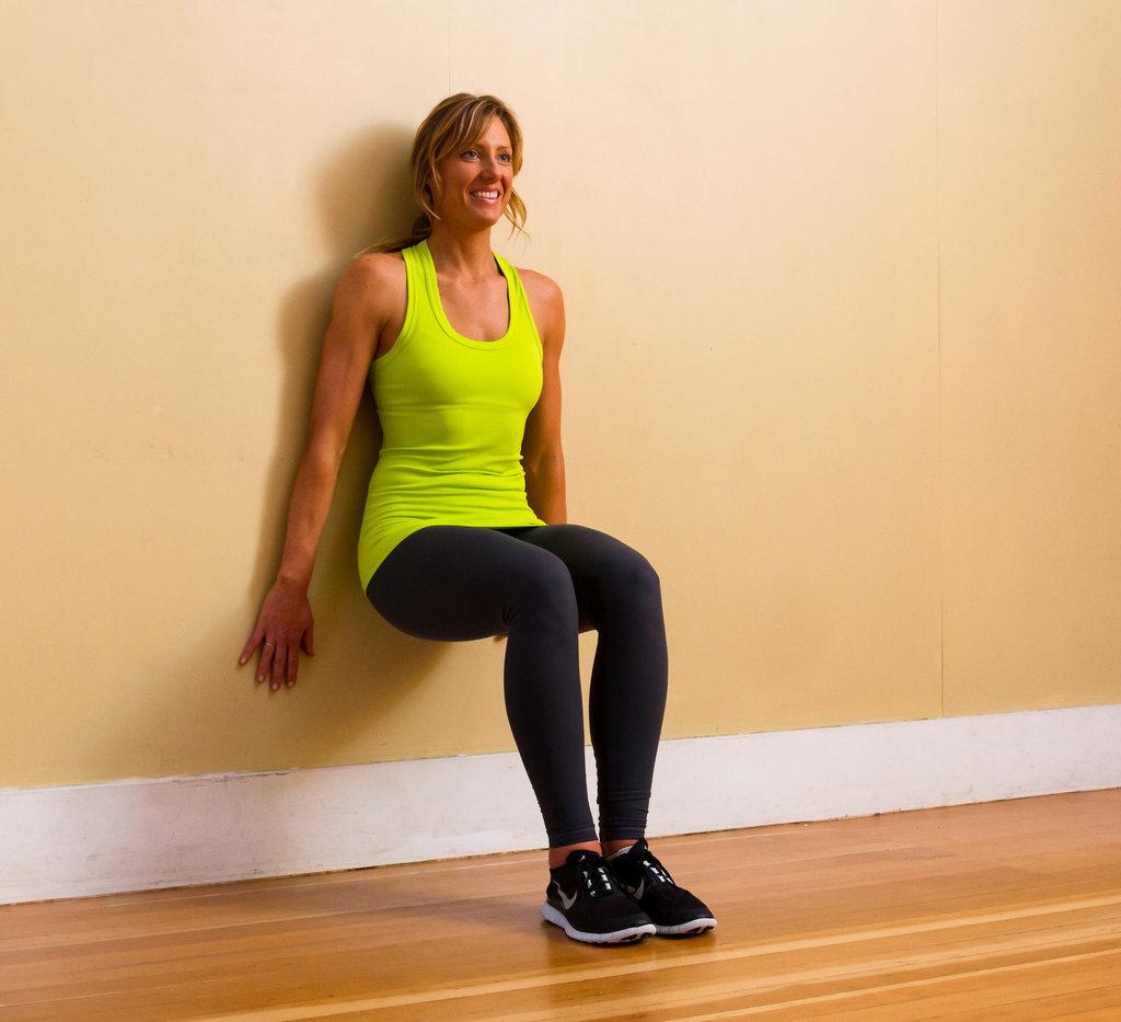 Lower Body: Wall Sit