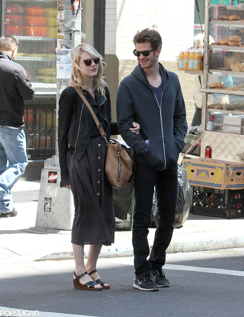 Andrew Garfield looked over at his girlfriend, Emma Stone ... Emma Stone Dating